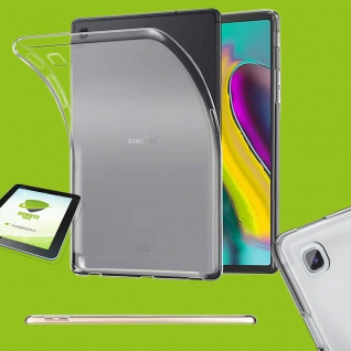 Für Samsung Galaxy Tab A 8.0 T290 T295 Transparent Hülle Tasche + HD LCD Folie