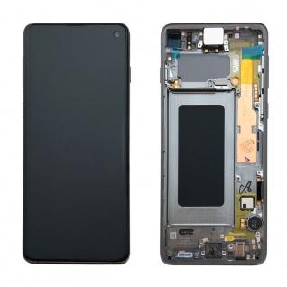 Samsung Display Full LCD Komplettset GH82-18850A Schwarz für Galaxy S10 G973F 6.1 Zoll - Vorschau 2