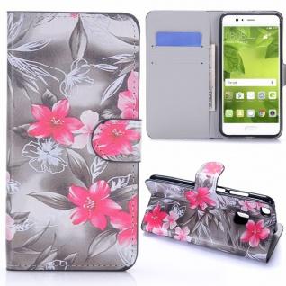 Schutzhülle Muster 75 für Huawei P10 Lite Bookcover Tasche Case Hülle Wallet Neu
