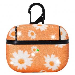 Apple Airpods Pro Cover Ring Orange Schutzhülle Cover Tasche Case Etui Halter - Vorschau 2