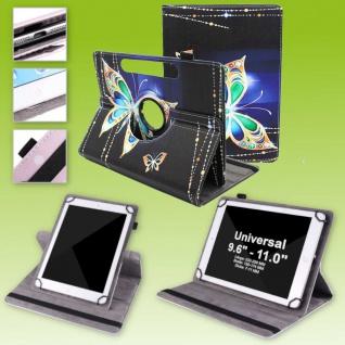 Für Huawei MatePad T10 / T10s 360 Grad Motiv 12 Tablet Tasche Kunst Leder Etuis
