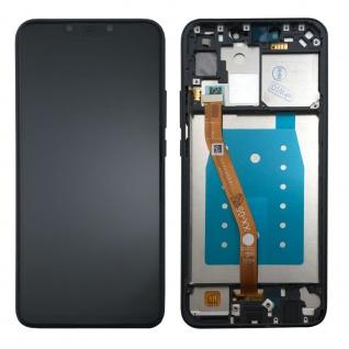 Für Huawei P Smart Plus Display Full LCD Touch mit Rahmen Reparatur Schwarz Neu - Vorschau 2