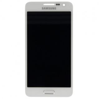 Display LCD Komplettset Touchscreen Weiss für Samsung Galaxy A3 A300 A300F Neu