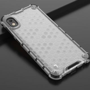 Für Samsung Galaxy A10 A105F Schock Hybrid Silikon TPU Transparent Tasche Hülle