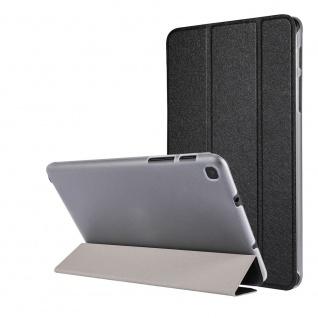 Für Samsung Galaxy Tab A7 Lite 2021 Wake UP Smart Cover Tablet Tasche Schwarz