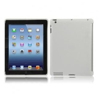 Schutz Silikon Design Tasche Cover für Apple iPad4 iPad 4 + Schutzfolie Hülle