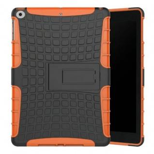 Hybrid Outdoor Schutzhülle Cover Orange für Apple iPad 9.7 2017 Tasche Case Neu