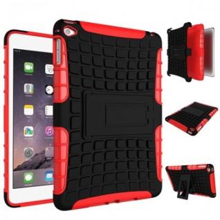 Hybrid Outdoor Schutzhülle Cover Rot für iPad Mini 4 7.9 Zoll Tasche Case Neu