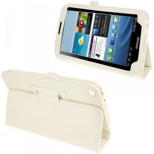 Schutzhülle Weiß Hülle Tasche Case Etui für Samsung Galaxy Tab 3 8.0 T3100 T3110
