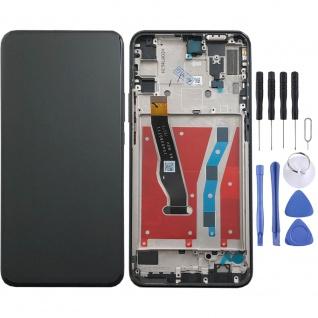 Für Huawei P Smart Z Display Full LCD Einheit Touch Screen mit Rahmen Schwarz