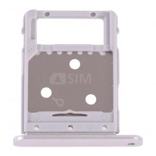 Simkartenhalter für Samsung Galaxy Tab S4 10.5 T835 Card Tray Silber Ersatzteil