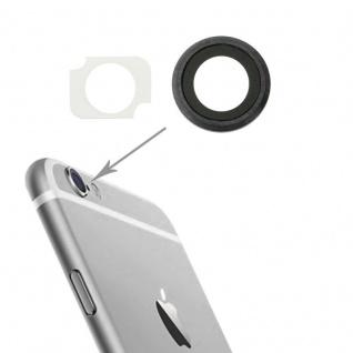 Kameraglas Kameralinse für Apple iPhone 6 Plus Haupt Kamera Glas + Rahmen Grau