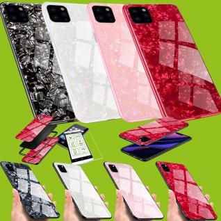 Für viele Smartphone Modelle Effekt Design Glas Tasche Case Hülle Cover Etuis
