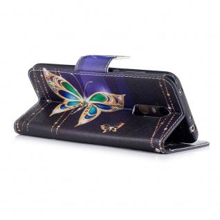 Für Samsung Galaxy A20e Kunstleder Tasche Wallet Motiv 32 Hülle Etuis Cover Neu - Vorschau 3