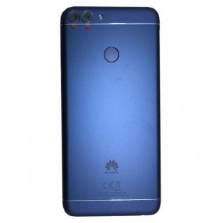 Huawei Akkudeckel Akku Deckel Batterie Cover Blau für P Smart / 02351TED Neu