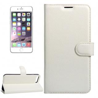 Schutzhülle Weiß für Apple iPhone 8 Plus 7 Plus 5.5 Bookcover Tasche Case Cover