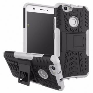 Hybrid Case 2teilig Outdoor Weiß für Huawei Nova Tasche Hülle Cover Neu Schutz
