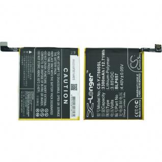 Ersatzakku Akku Batterie OnePlus 6 u. Dual A6000 A6003 ersetzt BLP657 Battery