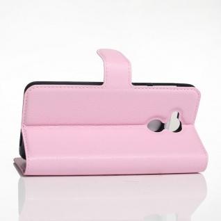 Tasche Wallet Premium Rosa für Huawei Honor 6C Hülle Case Cover Etui Schutz Neu - Vorschau 4