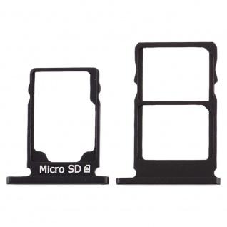 Für Nokia 5.1 Simkarten Halter Card Tray Schwarz SD Card Ersatzteil Zubehör