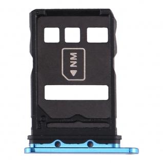 Für Huawei P40 Sim Card Tray Blau Schlitten Karten Halter Ersatzteil Reparatur