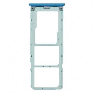 Für Xiaomi Mi A2 Lite / Redmi 6 Pro Karten Halter Sim Tray Schlitten Blau Neu - Vorschau 3