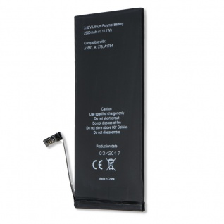 Akku Batterie Battery für Apple iPhone 7 Plus 2900 mAh Ersatzakku 3, 82V Zubehör - Vorschau 2