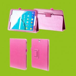 Für Apple iPad Pro 12.9 Zoll 2018 Pink Kunstleder Hülle Cover Tasche Etuis Case