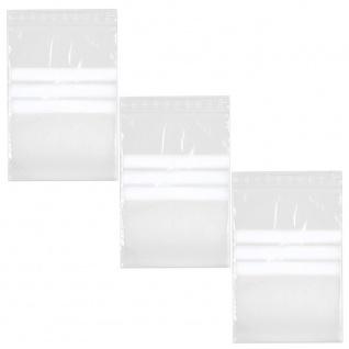 1000 Schnellverschlussbeutel mit Schreibfeld Aufbewahrung Tüte Halter 60 x 80 mm