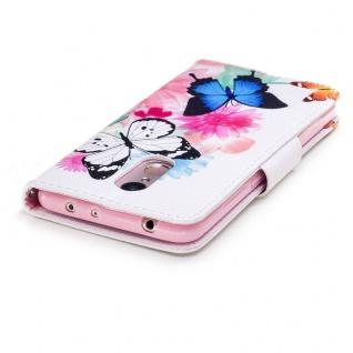 Für Huawei P Smart Plus Kunstleder Tasche Book Motiv 39 Schutz Hülle Case Cover - Vorschau 4