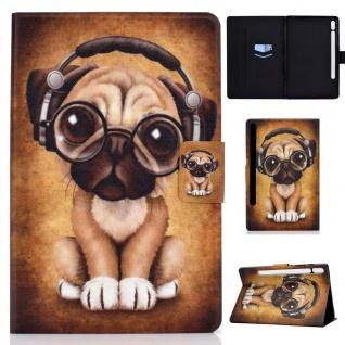 Für Samsung Galaxy Tab S7 2020 Motiv 55 Tablet Tasche Kunst Leder Hülle Etuis