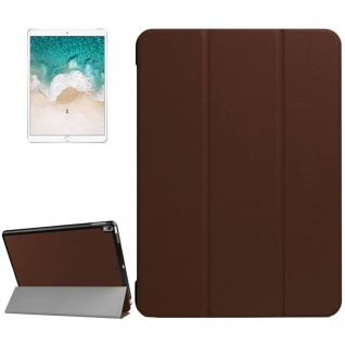 Smartcover Braun Cover Tasche für Apple iPad Pro 10.5 2017 Hülle Etui Case Neu