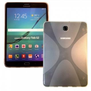 Silikonhülle Transparent für Samsung Galaxy Tab S2 8.0 T710 T715N Hülle Tasche