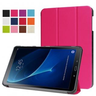Smart Cover Pink Tasche für Samsung Galaxy Tab A 10.5 T590 T595 Hülle Wake Up
