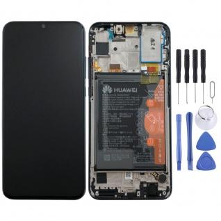 Huawei Display LCD + Rahmen für Honor 20 Lite Service Pack 02352QMT Schwarz Neu