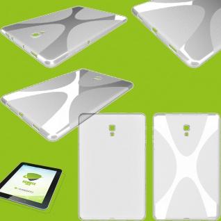 Silikon Xline Tasche Transparent für Samsung Galaxy Tab A 10.1 2019 T510 + Folie