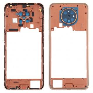 Mittelrahmen für Nokia 5.3 Gold Middle Frame Rahmen Gehäuse Ersatzteil Zubehör