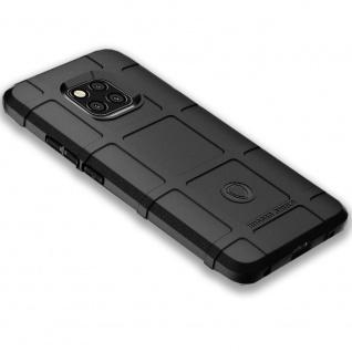 Für Huawei Mate 20 Pro Shield Series Outdoor Schwarz Tasche Hülle Cover Schutz