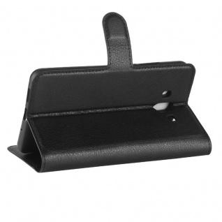 Tasche Wallet Premium Schwarz für Huawei Mate 10 Hülle Case Cover Etui Schutz - Vorschau 3