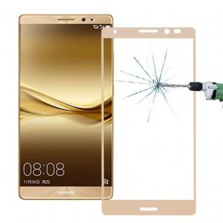 Full Hartglas 0, 26 mm dünne H9 Schock Gold für Huawei Mate 8 Hülle Schutz Neu - Vorschau 2