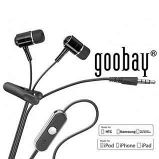 Original Goobay InEar Kopfhörer Headset für alle Handys mit 3, 5 Klinkenstecker