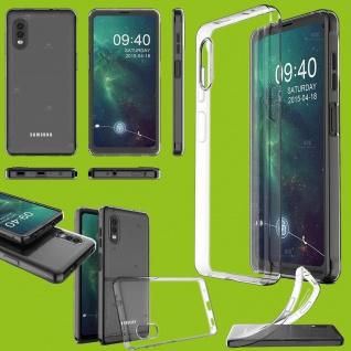 Für Samsung Galaxy Xcover Pro TPU Silikon Hülle Handy Tasche Etuis Transparent