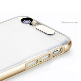 Original ROCK Light Tube Bumper Case Gold für Apple iPhone 6 Plus 5.5 Cover Neu