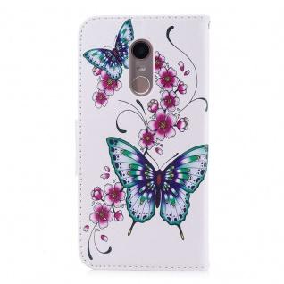 Tasche Wallet Book Cover Motiv 31 für Xiaomi Redmi 5 Plus Hülle Case - Vorschau 2