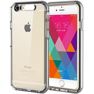 Original ROCK Light Tube Bumper Case Grau für Apple iPhone 6 Plus 5.5 Cover Neu
