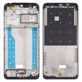 Front Housing LCD Rahmen für Nokia 5.3 Schwarz Frame Gehäuse Zubehör Ersatzteil
