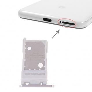 Für Google Pixel 3 Ersatzteil Simkartenhalter Card Tray Halter Sim Weiß Neu