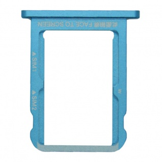 Für Xiaomi Mi A2 / Mi 6X Karten Halter Sim Tray Schlitten Holder Ersatzteil Blau