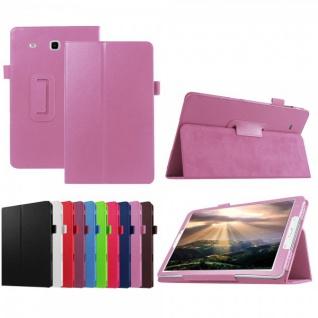 Schutzhülle Rosa Tasche für Samsung Galaxy Tab E 9.6 SM T560 T561 Hülle Case Neu