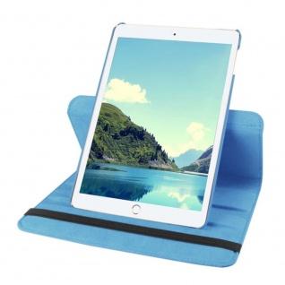 Schutzhülle 360 Grad Hellblau Tasche für Apple iPad Pro 9.7 Zoll Hülle Case Etui